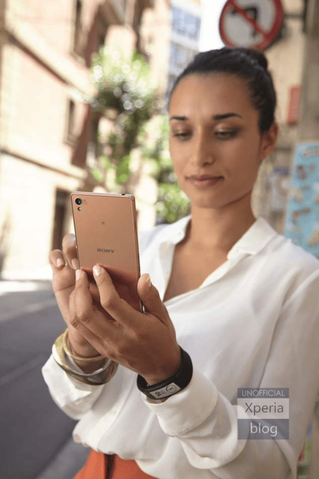 xperia z3 copper gold