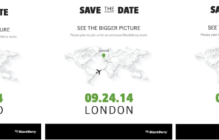 BlackBerry Passport launch date
