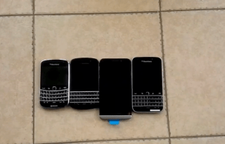 blackberry classic leaked video