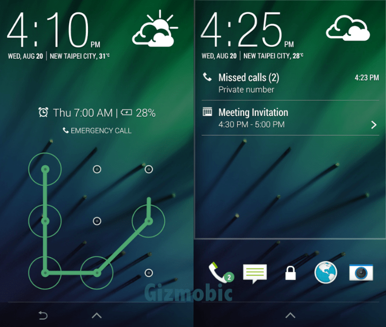 htc sense 5 lockscreen apk