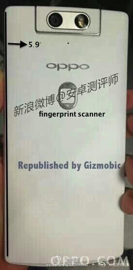 oppo n3 fingerprint scanner