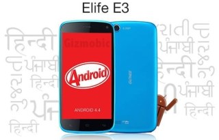 gione e3 kitkat update