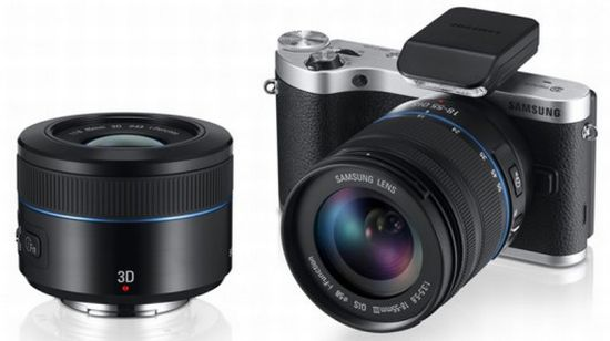 Samsung NX300 with 3D lens