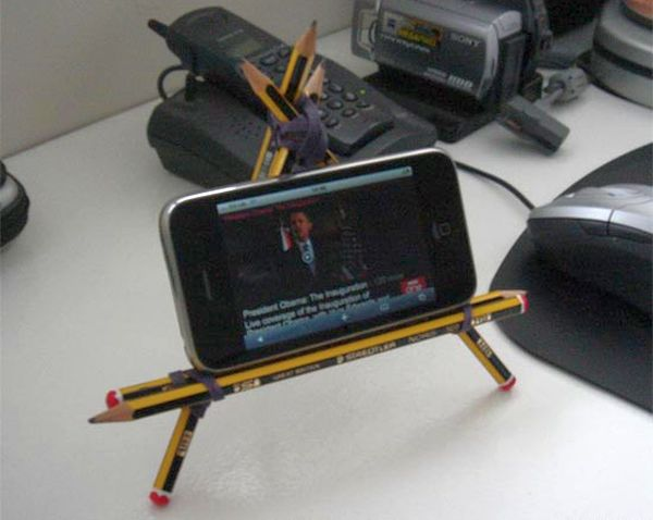 Pencil IPhone stand_1
