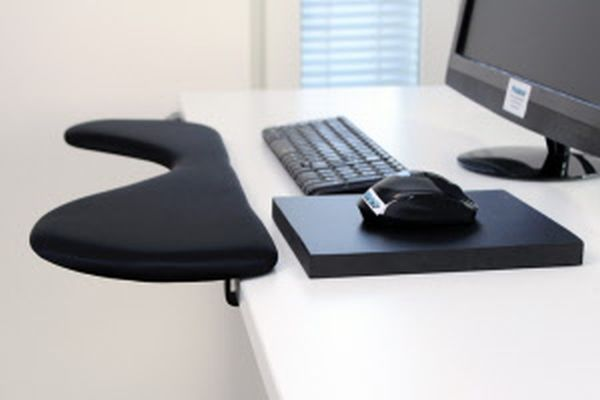 Ergonomic Pauner keyboard and mouse wrist support armrest