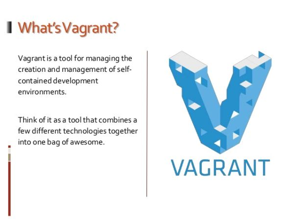 vagrant-is-a-tool