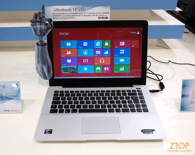 Ultrabook CCE F7.
