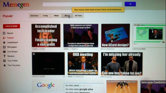 Memegen do Google.