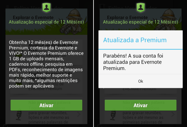 evernote premium vivo