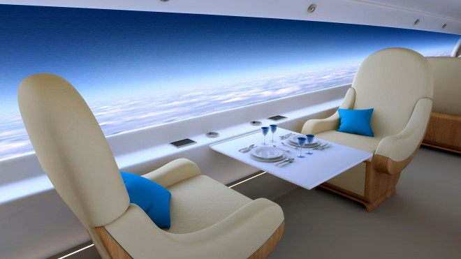 First Supersonic Private Jet (2)