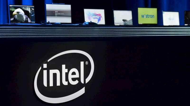 Laptops com chips Intel