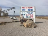 The A'Le'Inn- notice the wrecker has a broken down spaceship on it