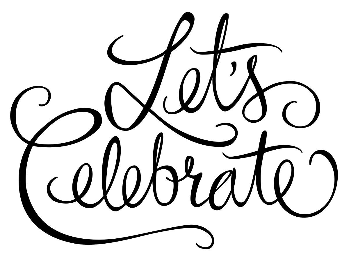 Lettering Lets Celebrate