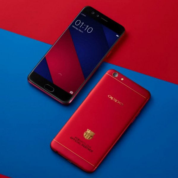 OPPO F3 FC Barcelona Limited Edition