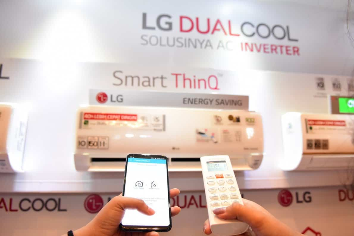 AC LG Dual Cool Inverter Series