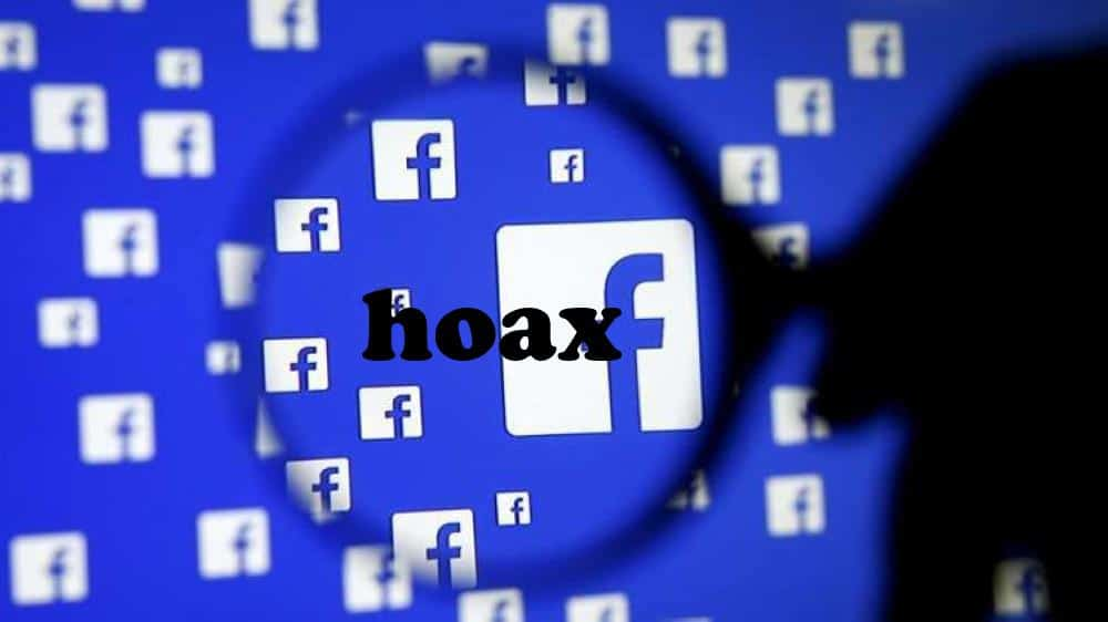 Tips perangi hoax di Facebook.