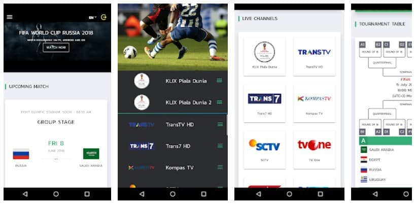 <strong>KlixTV: Streaming Nonton Bola dari Gadget</strong>