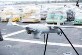Kestrel pada drone keperluan militer. Foto oleh sentientvision.com