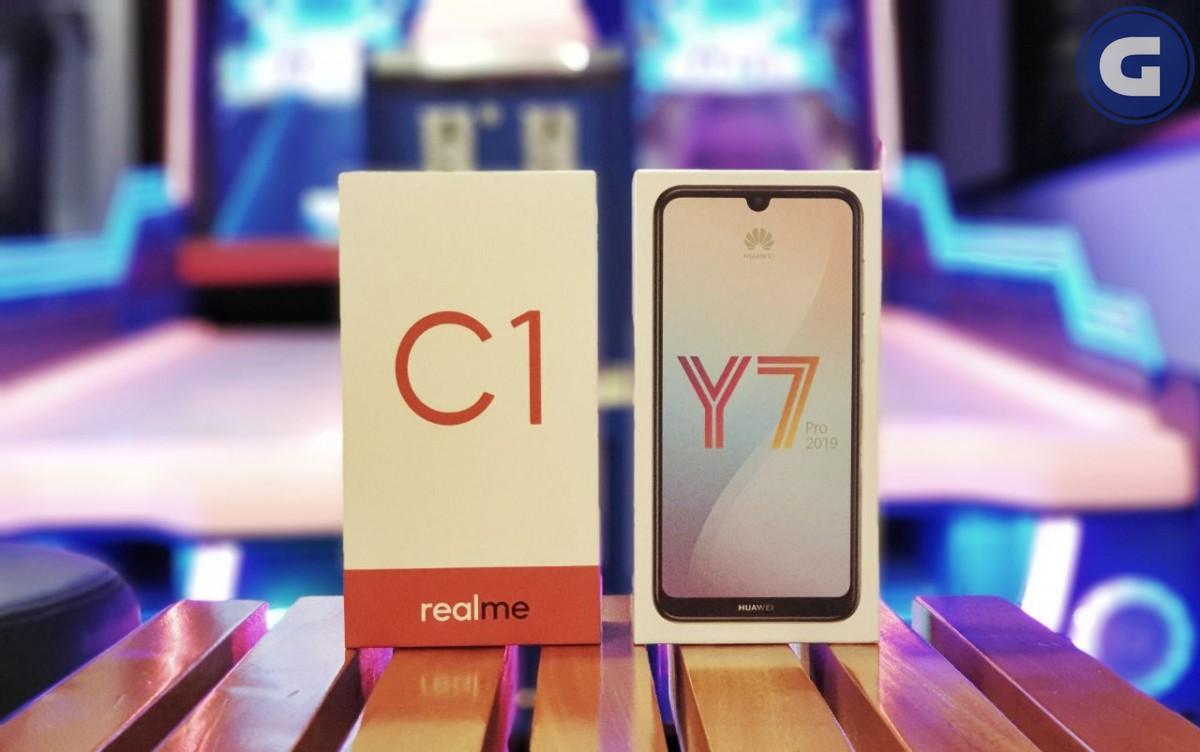 Realme C1 vs Huawei Y7 Pro