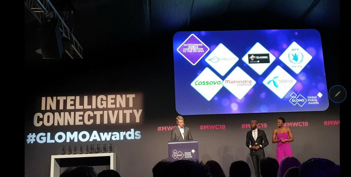 Penghargaan Internasional Global Mobile Awards 2019 di MWC 2019 Barcelona
