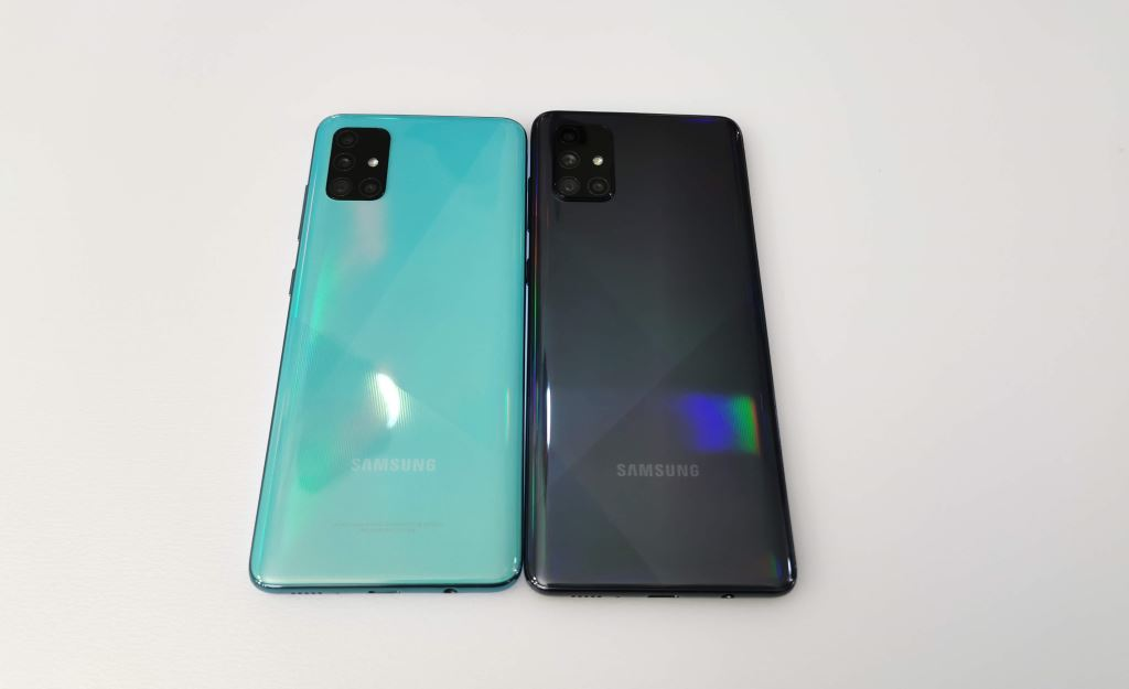 Samsung Galaxy A51 dan Galaxy A71 perbedaan