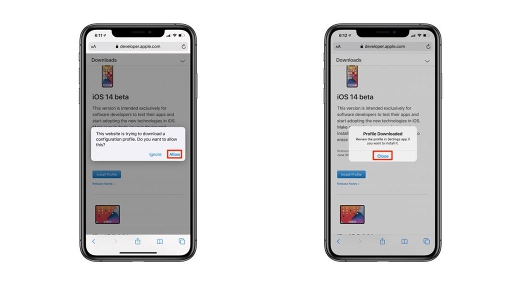 Cara install iOS 14 Beta