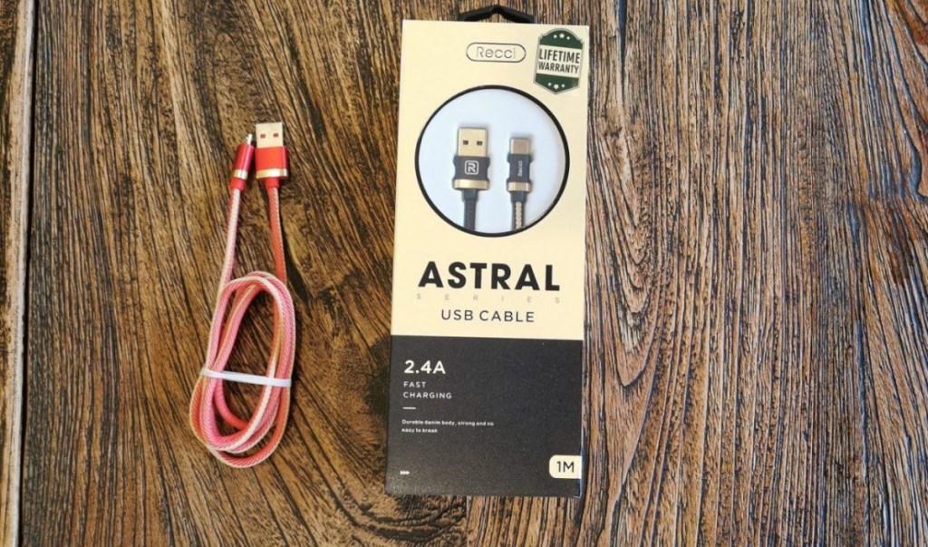 Harga Kabel Data Recci Astral USB Fast Charging 2