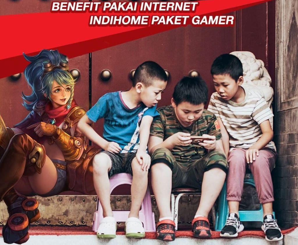 Indihome Paket Gamer
