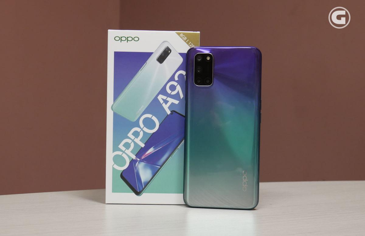 OPPO A92 Aurora Purple review