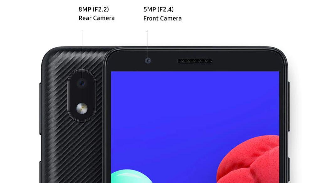 Samsung Galaxy 01 Core kamera