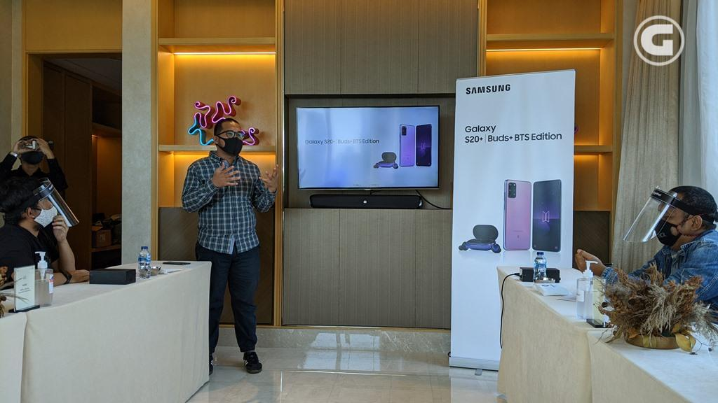 Galaxy S20 BTS Edition hands-on event