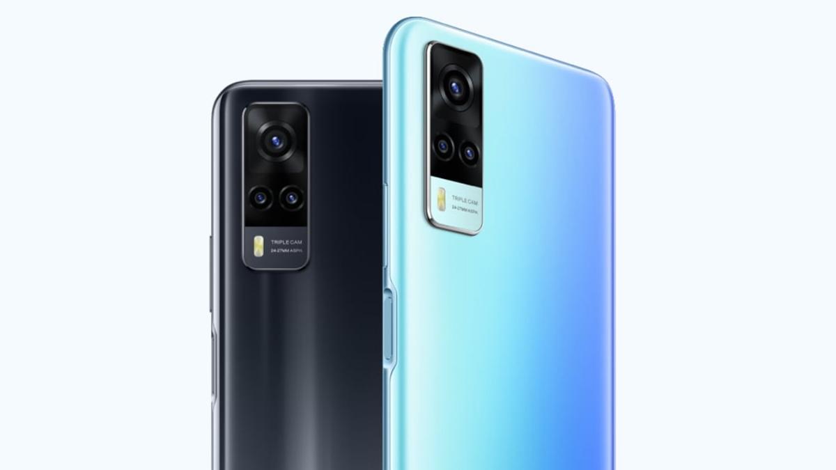 Smartphone ini memiliki desain kamera depan punch hole dan tiga kamera belakang. Harga Vivo Z1X 2021 2021