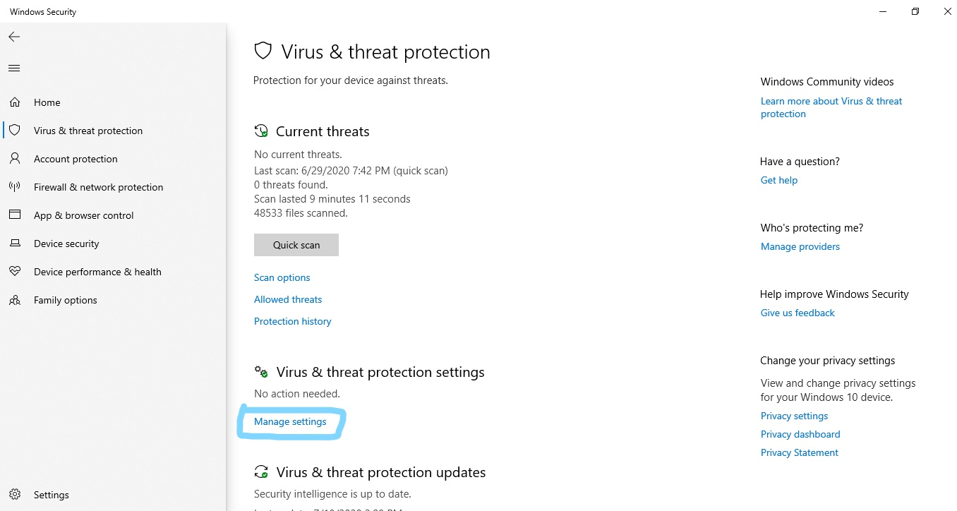 How to disable protection of Microsoft Defender?