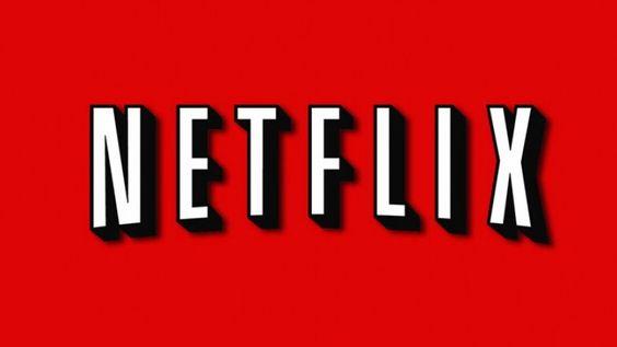 Netflix logo red