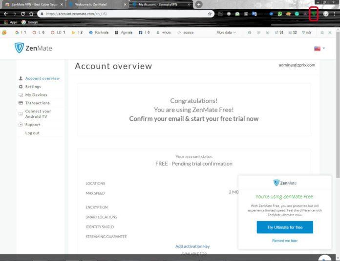 Free VPN for Chrome