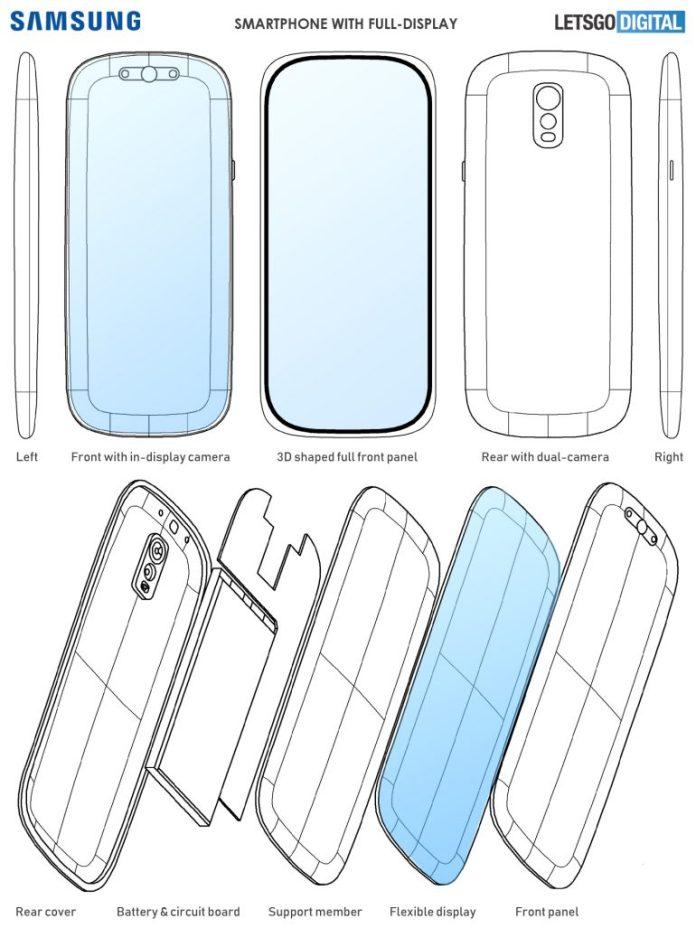 Samsung Galaxy S11 Patent