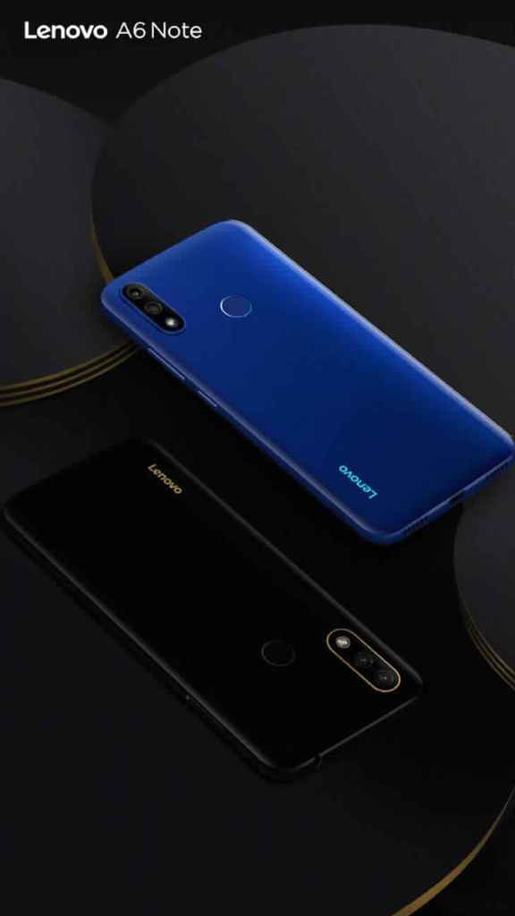Lenovo A6 Note in 2  different colors
