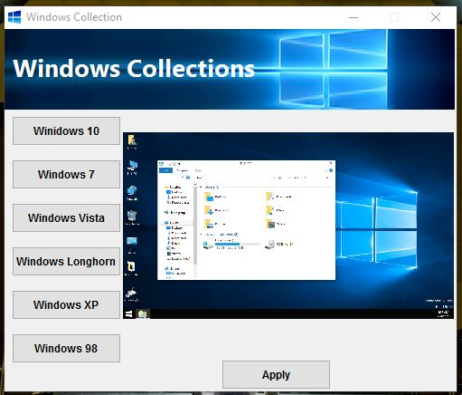 Windows SkinPack Collections