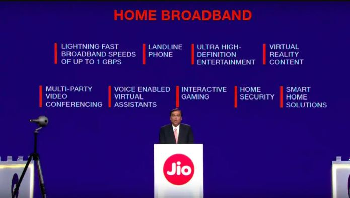 Jio Fiber Plans and Price