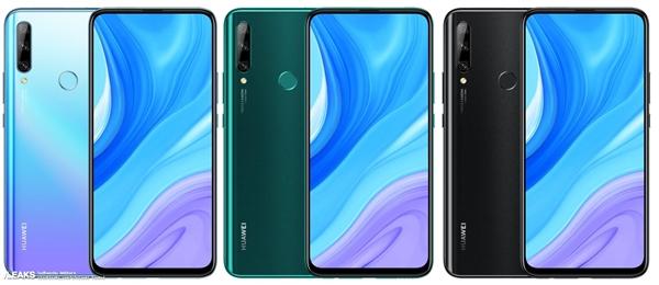 Huawei Enjoy 10 Plus in three colors