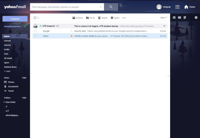 Yahoo Mailing