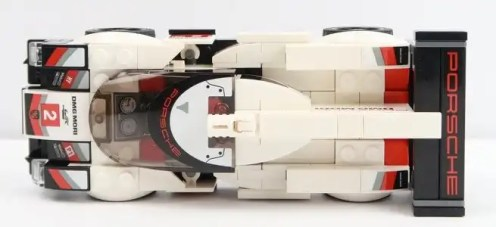 LEGO Speed Champions 2018 Porsche 919 Hybrid 75887 Top