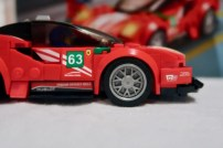 LEGO Speed Champions Ferrari 488 GT3 75886 Sponsors and Front Splitter