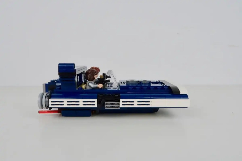 LEGO Star Wars Han Solo's Landspeeder Review 75209 Right Side