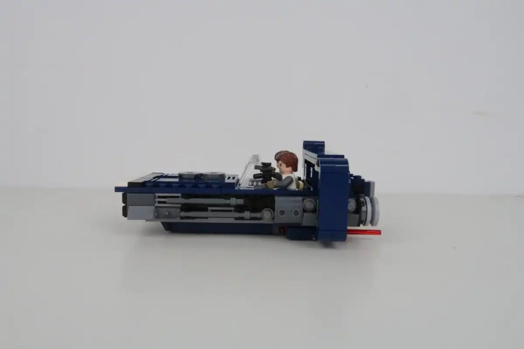 LEGO Star Wars Han Solo's Landspeeder Review 75209 Side View