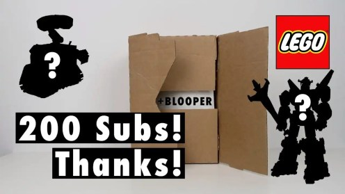 200 YouTube Subscribers special video! Thanks, shoutout and LEGO Chat