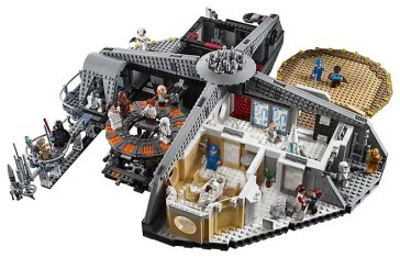 LEGO Star Wars 75222 Betrayal At Cloud City - Playset overview