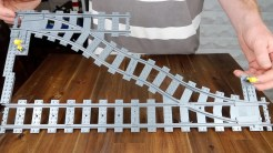 Modifying LEGO Train Junctions for Shorter Crossovers - photo 3