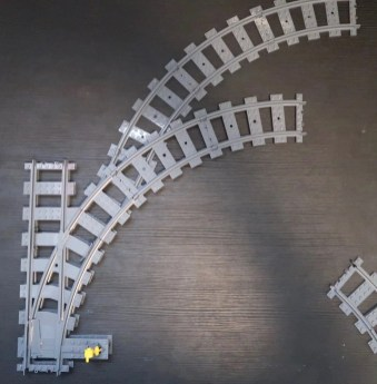 LEGO Train Junction Hack space saving