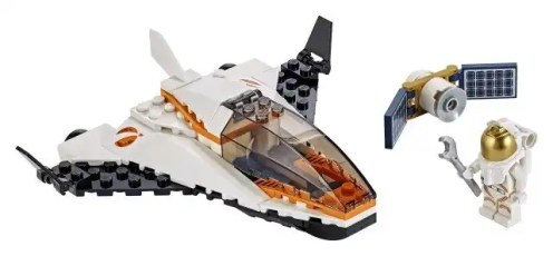 LEGO-City-Space-Summer-2019-60224-Maintenance-Mission-Shuttle-2